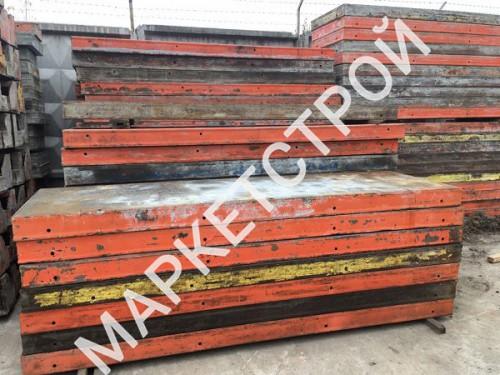 Щит стальной линейный (140 мм) 1,2х3,0 м для опалубки стен